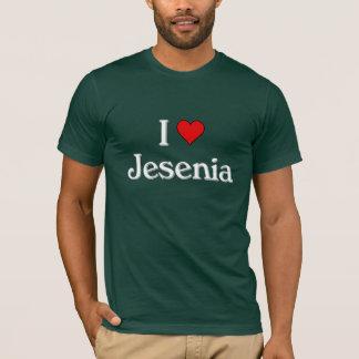 私はジェシカを愛します Tシャツ