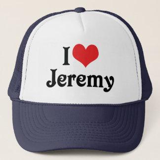 私はジェレミーを愛します キャップ