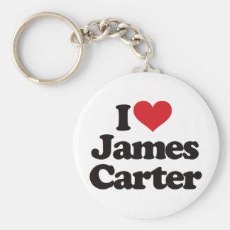 私はジェームスカーターを愛します キーホルダー