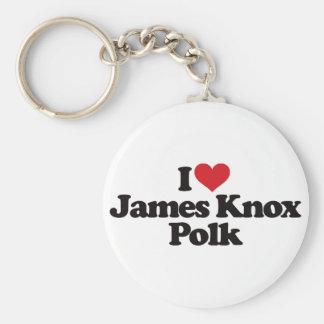 私はジェームスKnoxポークを愛します キーホルダー