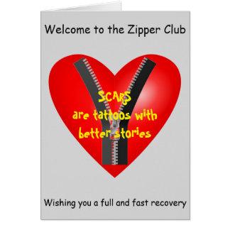 私はジッパークラブの真正なメンバーです カード
