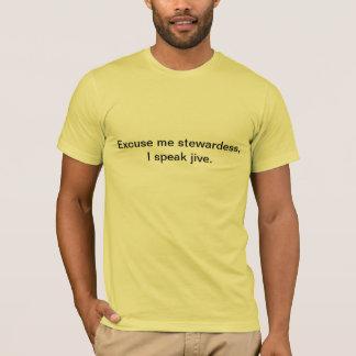私はジャイヴを話します Tシャツ