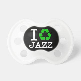 私はジャズをリサイクルします おしゃぶり