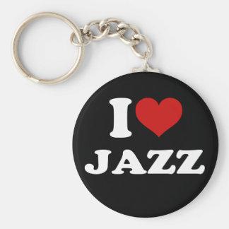 私はジャズを愛します キーホルダー