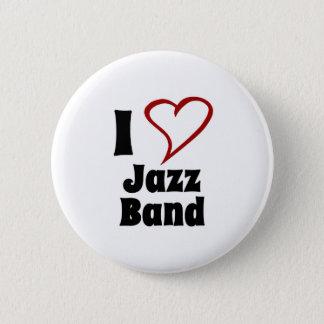 私はジャズバンドを愛します 5.7CM 丸型バッジ