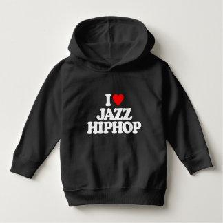 私はジャズヒップホップを愛します パーカ