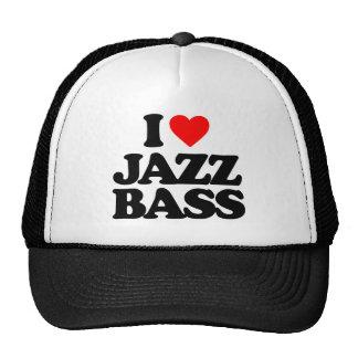 私はジャズ低音を愛します 帽子