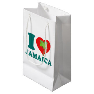 私はジャマイカを愛します スモールペーパーバッグ