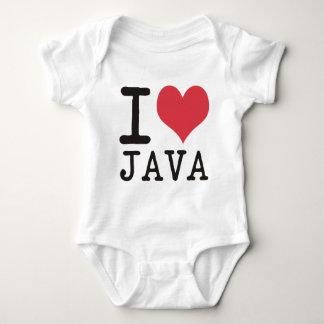 私はジャワ-ケチャップ-を子猫のプロダクト及びデザイン愛します! ベビーボディスーツ
