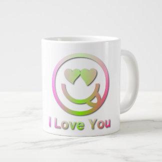 私はジャンボギフトのマグ愛します ジャンボコーヒーマグカップ