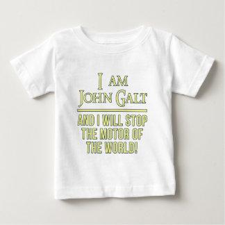 私はジョンGaltです ベビーTシャツ