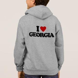 私はジョージアを愛します パーカ