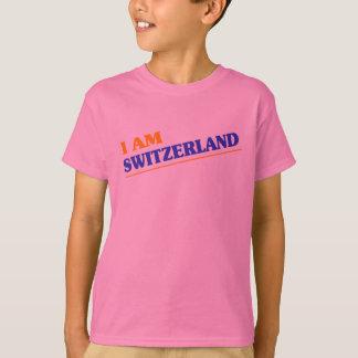私はスイス連邦共和国です Tシャツ