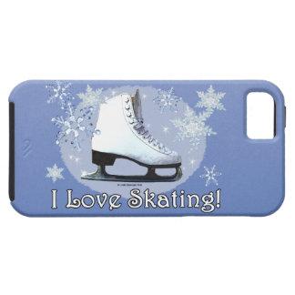 私はスケートで滑ることを愛します! iPhone SE/5/5s ケース