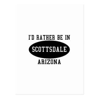 私はスコッツデールにむしろいます ポストカード