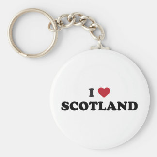 私はスコットランドを愛します キーホルダー