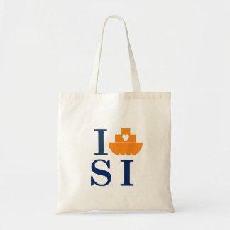 私はスタテン島-トートバック--を運びます トートバッグ