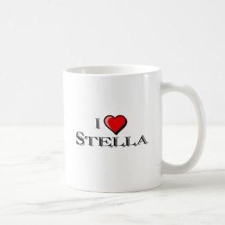 私はステラを愛します コーヒーマグカップ