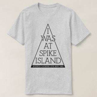 私はスパイクの島90の精液の伝説のイギリスのギグにありました Tシャツ