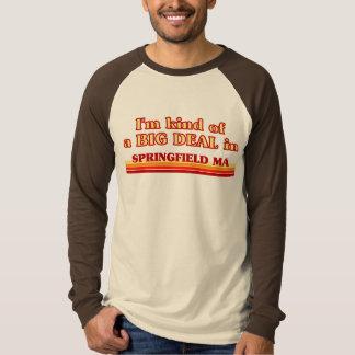 私はスプリングフィールドのちょっと大事です Tシャツ