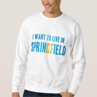 私はスプリングフィールドのスエットシャツに住みたいと思います スウェットシャツ