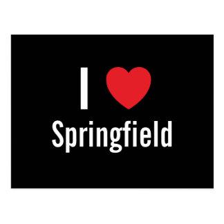 私はスプリングフィールドを愛します ポストカード