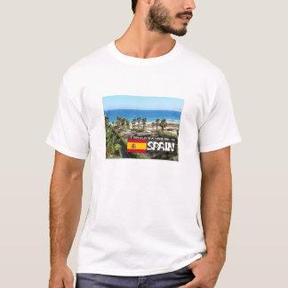 私はスペインにむしろいます Tシャツ