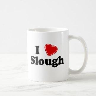 私はスラウを愛します コーヒーマグカップ