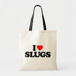 私はスラグを愛します トートバッグ