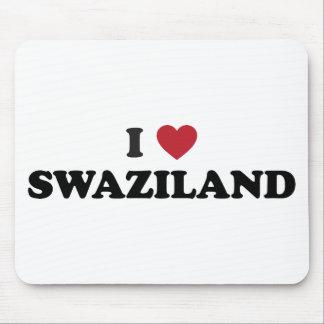 私はスワジランドを愛します マウスパッド