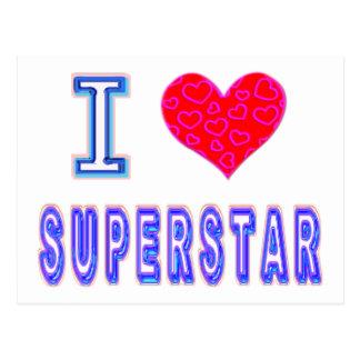私はスーパースターを愛します ポストカード