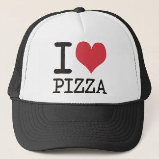 私はスープ-ベジタリアン-をピザプロダクト愛します! キャップ