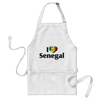 私はセネガルの旗を愛します スタンダードエプロン