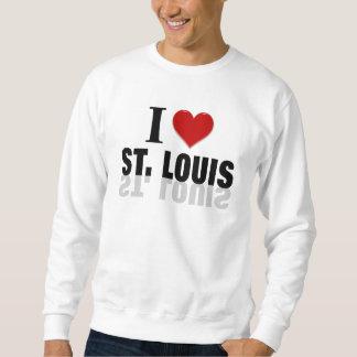 私はセントルイスを愛します スウェットシャツ