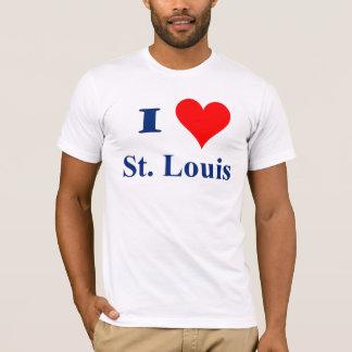 私はセントルイスを愛します Tシャツ