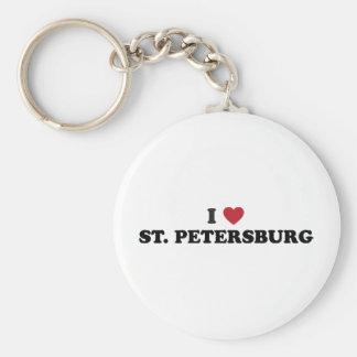 私はセント・ピーターズバーグフロリダを愛します キーホルダー