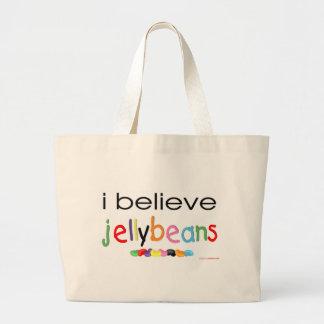 私はゼリー菓子で信じます ラージトートバッグ
