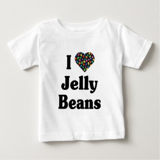 私はゼリー菓子のTシャツを愛します ベビーTシャツ