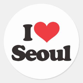 私はソウルを愛します ラウンドシール