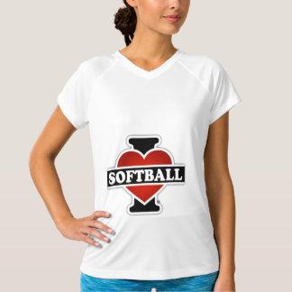 私はソフトボールを愛します Tシャツ