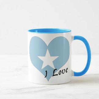 私はソマリアを愛します マグカップ