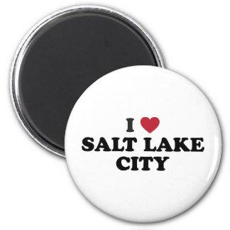 私はソルト・レーク・シティユタを愛します マグネット