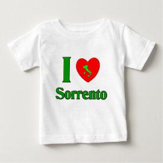 私はソレントイタリアを愛します ベビーTシャツ