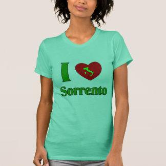 私はソレントイタリアを愛します Tシャツ