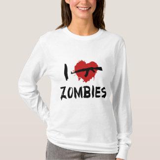 私はゾンビを殺すことを愛します Tシャツ