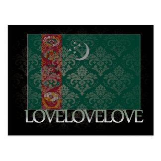 私はタキマンニスタンのカッコいいを愛します ポストカード