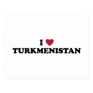 私はタキマンニスタンを愛します ポストカード