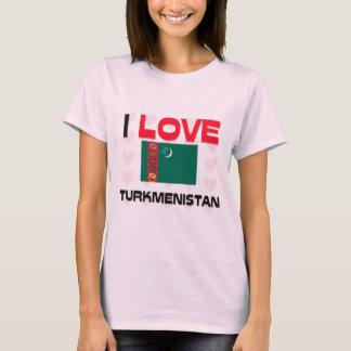 私はタキマンニスタンを愛します Tシャツ