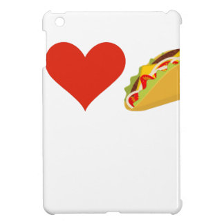 私はタコスの恋人のためのタコスを愛します iPad MINIケース
