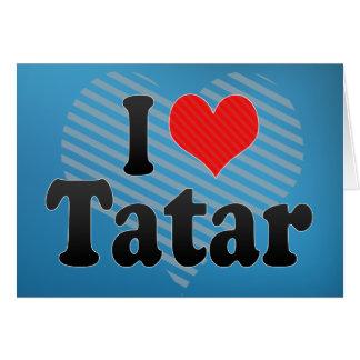 私はタタールを愛します カード